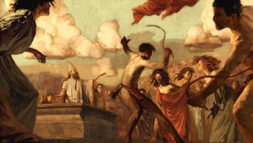Ancient Roman Lupercalia, OG Valentine's Day