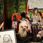 Blondes Against Trump do Bonoboville Communion. Photo: B Natural