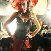 Catalyst Latex corset & skirt