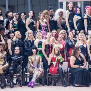 Mistresses of DomCon 2017.  Photo: Jux Lii