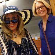 With Christiane Byrd