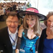 With adorable and helpful Drs. Martin Ray & Judith Fletcher