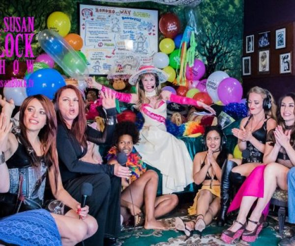 Happy B-Day Dr. Suzy & Speakeasy Journal Launch Party This Saturday, Int'l Sex Workers Day, the Bonobo Way, on DrSuzy.Tv + Phone Therapy for the Sexual Dark Ages: Call 310-568-0066. We're Here for YOU