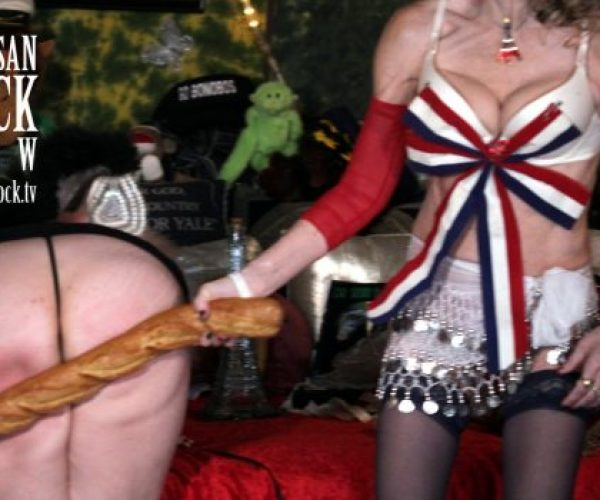 "Burlesque Bastille Day this Saturday in Bonoboville | ""Sexual Intuition & the Motorbunny"" Now Playing on DrSuzy.Tv 