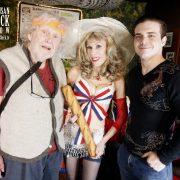 With John Clark & Derek Wylder (Abe's 40th photo)