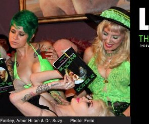 Amazing April, the Bonobo Way: Stormy Students in Counterpunch | ErotiqueTV with D.A.D This Saturday & 26th Anniversary Bash Coming to DrSuzy.Tv | Spring Got You Sprung? Call 213-291-9497 for Phone Sex Therapy Anytime You Need to Talk