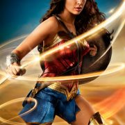 Gal Gadot as Wonder Woman and her Lasso of Truth
