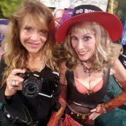 With Shutterbug Christine Dupree