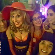 Gracie, Amilia, Jacquie & Jux selfie