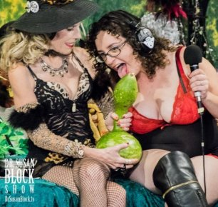 Cougars, Kinksters & Gourdy the Gourd on DrSuzy.Tv, P-Spot in Cosmo & Private Kink Month Convos 24/7: Call 213-291-9497
