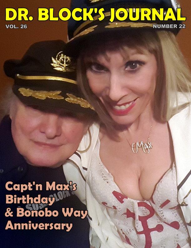 Capt'n Max's Bday & Bonobo Way Anniversary 2017 on DrSuzy.Tv