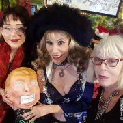 With Tristine Roman Sheree Rose & Bob Flanagan-Gagged Trump