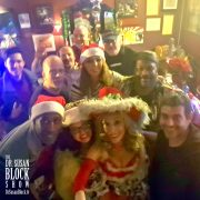 Xmas Speakeasy Bar Selfie