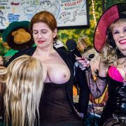 Brigitte takes Communion from Mistress Tara