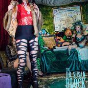 Elena Rayn in Holey Tights & Fur