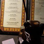 Drink Menu, CC & Bear Mug