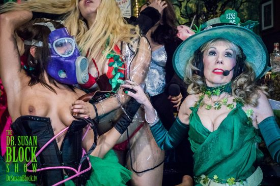 St. Paddy's Day in Bonoboville on the Edge of the Trumpocalypse. Photo: Jux Lii
