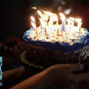 Blazing Bday Cake