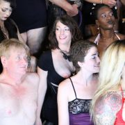 """John """"Frees the Nipple"""" along with the ladies"""