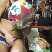 "Betsy barks ""Happy Birthday!"""