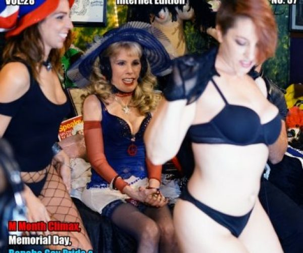 M Month Climax, Memorial Day Requiem, Bonobo Gay Pride & Stormy Daniels Day!