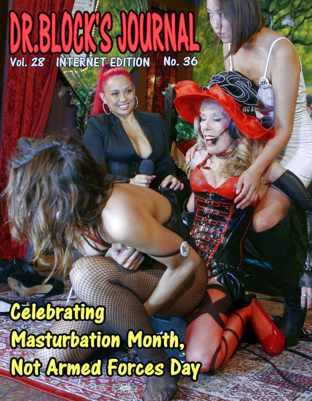Celebrating Masturbation Month, Not Armed Forces Day