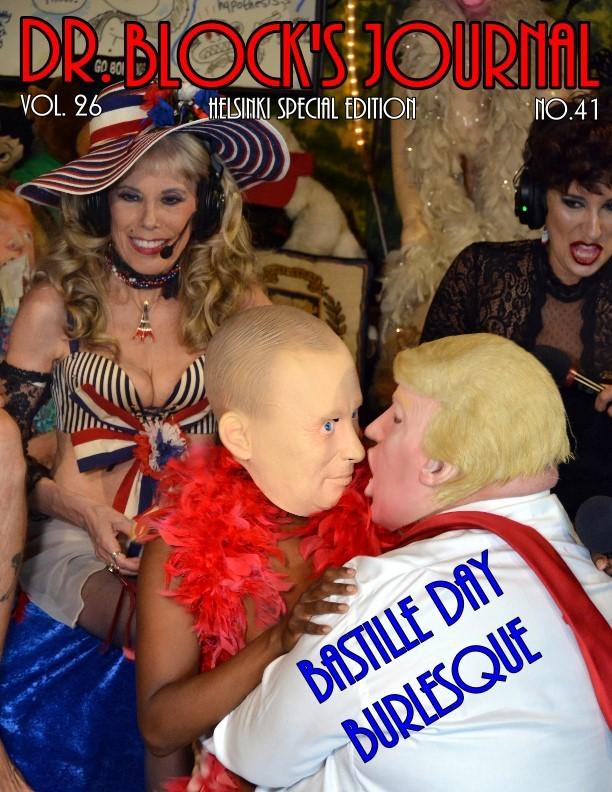 Bastille Day Burlesque