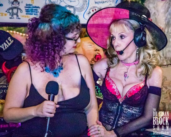 """""""Most Well-Rounded Kinkster"""" SUZY-award-winner Rhiannon Aarons receives some personal birthday praise. Photo: Jux Lii"""
