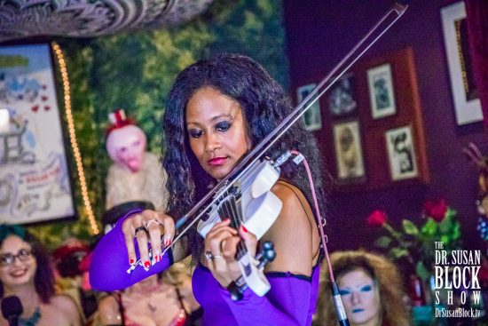 Wicked, the Kinky Virtuoso Violinist. Photo: Jux Lii