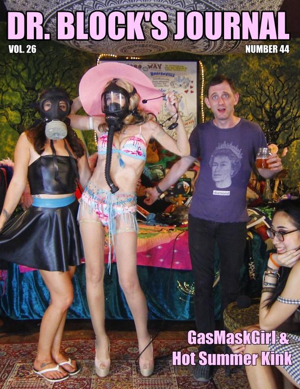 GasMaskGirl & Hot Summer Kink