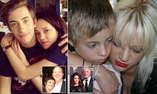 The complicated love life of Asia Argento: Jimmy Bennett, Anthony Bourdain, Harvey Weinstein. Interestingly, in each photo, her look seems to change to more closely resemble the male by her side.