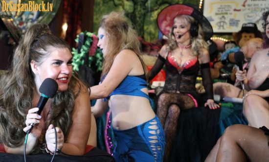 Mother Tink spanks Dannie (and finally we get a view of her face while being spanked!). Photo: Slick Rick