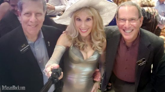 With Academy of Television Arts & Sciences Governors Mitch Waldow and Dan Birman. Photo: Selfie