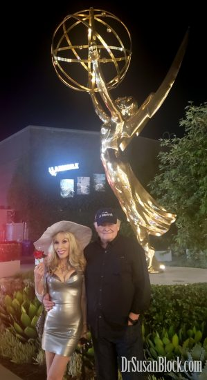 With Max in front of Emmy. Photo: Leigha Mai-Ling