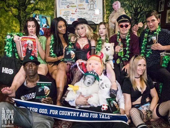 Row 1: Ikkor, Trumpus, Crybaby Kavanaugh, Blossom Green. Row 2: Sunshine McWane, Honey Dior, Dr. Suzy, Mother Tink, Fizzgig, Robert Stark, Matt Pegan. Photo: Jux Lii