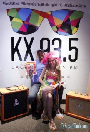 KX 93.5 FM Laguna Beach Interviews Dr. Suzy
