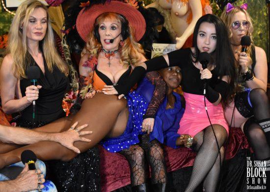 Goddess Virgin gives Daniele a spank. Photo: Wicked Way Beats