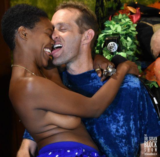 """SUZY award winners for """"Most Bonobo Couple."""" Photo: Wicked Way Beats"""