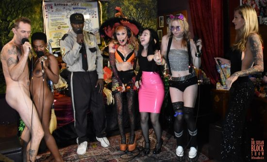 """BOOnoBOOville Sheriff Ikkor the Wolf leads the posse in """"She Bad."""" Photo: Wicked Way Beats"""