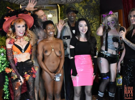 What a great night of Magic Dildonic Vibrating Broom-Riding, Naked Tricks & Latex Treats. Photo: Wicked Way Beats