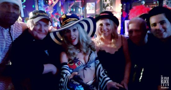 Scorpio Bday Speakeasy Bar Selfie
