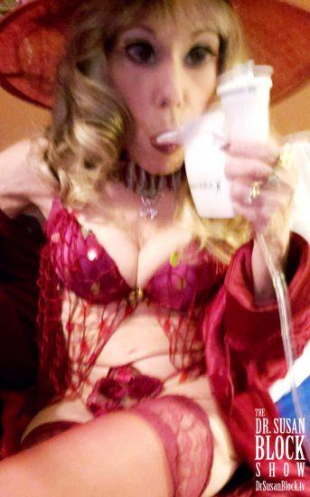 Pre-Show Nebulizer Fellatio. Photo: Selfie