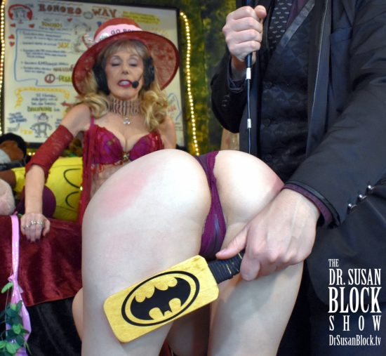 Batman Spanksgiving! Photo: Frank T