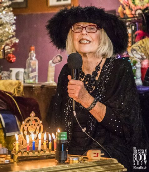 World Renowned Artist & Mistress Sheree Rose COMES BACK from a heart attack for Hanukkah 2018 on DrSuzy.Tv. Photo: Jux Lii