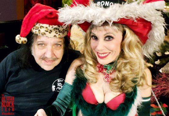 Ronnie Claus & Pimpin' Mrs. Santa. Photo: Selfie