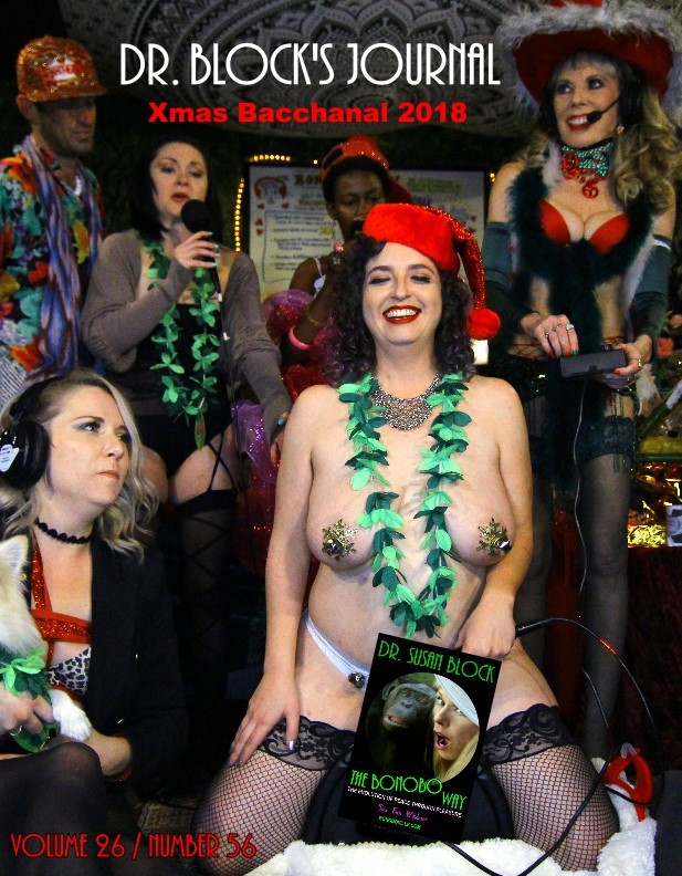 "XXXmas Bacchanal 2018: Jingle Bell Orgasms to ""O Holy Night,"" Baby Jesus Buttplug & Honoring International Day to End Violence Against Sex Workers"