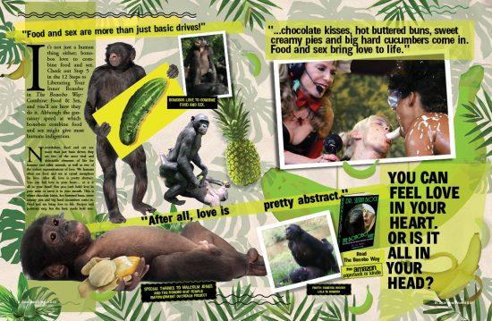 P. 50-51 in the Speakeasy Journal's SPLOSH 'n' Art: Go Bonobos!