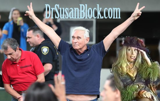 Roger Stone exits the federal courthouse Friday in Fort Lauderdale, Fla.