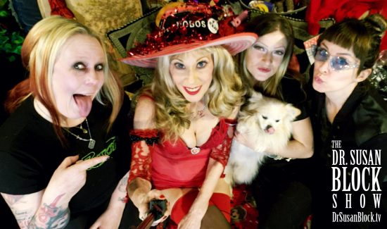 With Nea Dune, Mother Tink, Fizzgig and Pamela Vandervelde. Photo: Selfie