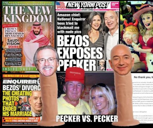 Why Bezos Exposed Trump's Pecker
